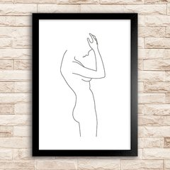 Poster Woman Line Art II