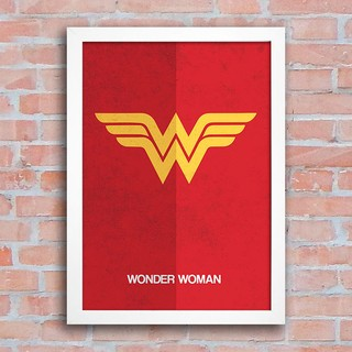 Poster Wonder Woman Logo na internet
