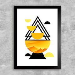 Poster Yellow Trio III