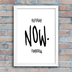 Poster The Time is Now - comprar online