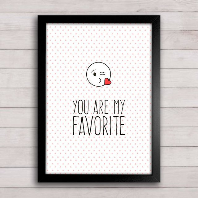 Poster You are my favorite - comprar online