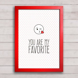 Poster You are my favorite na internet