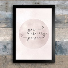 Poster You are my person - comprar online