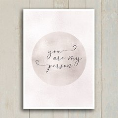 Poster You are my person - Encadreé Posters