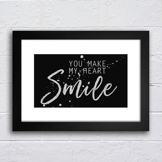 Poster You make my heart smile - comprar online