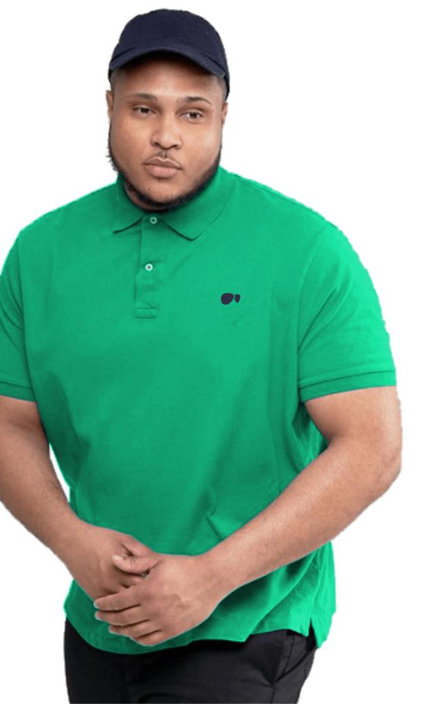 5b8720692e Camisa Polo Hugo Blanc Piquet Verde 050