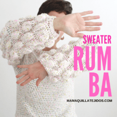 SWEATER RUMBA - PATRÓN EN PDF - buy online