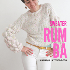 SWEATER RUMBA - PATRÓN EN PDF