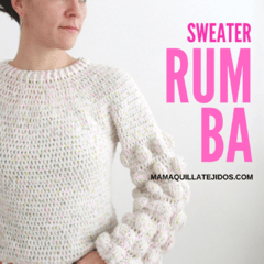 SWEATER RUMBA - PATRÓN EN PDF on internet