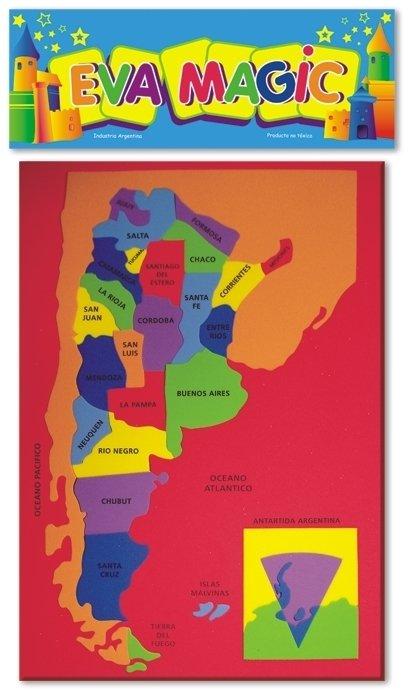 Mapa De Argentina Goma Eva - Fotos-de-goma-eva