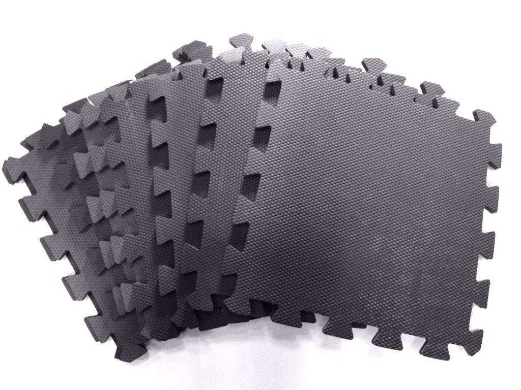 e3e4f1afeb7 Lote Pisos Goma Eva Oferta 50x50 cm x 10mm Color Negro