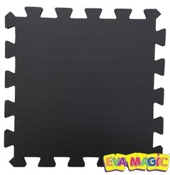 Pisos Goma Eva 50X50 CM X 15 MM Color Negro en internet