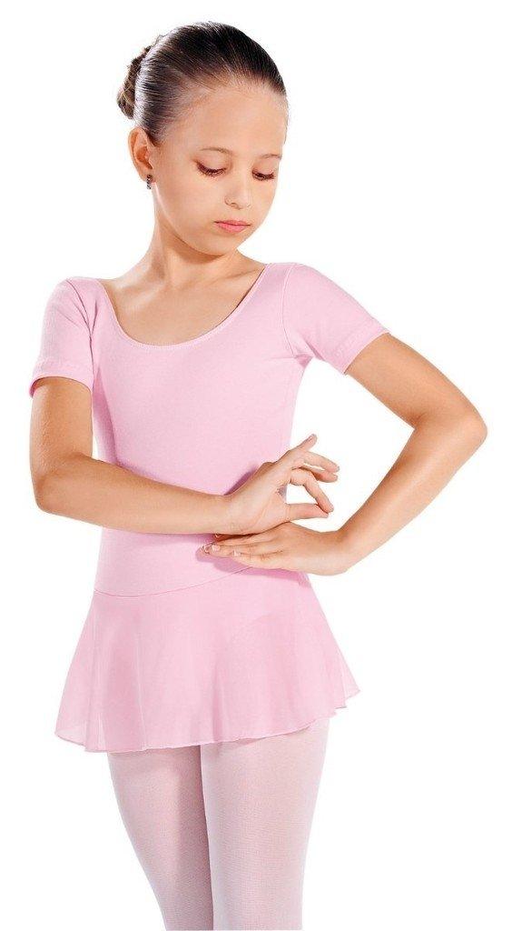 89788c2dc Collant com Saia Manga Curta Infantil — Baloow Ballet Artigos de ...