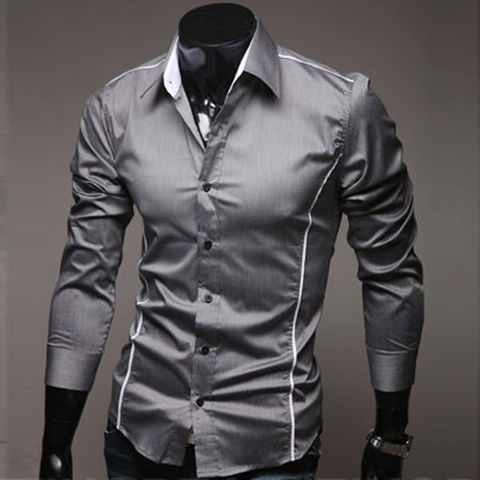 Camisa Casual Slim Fit Elegante
