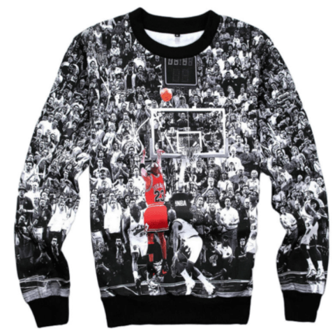 Moletom Basquete Michael Jordan - MD01