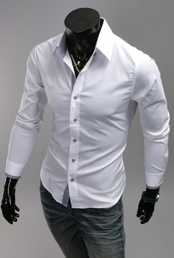 Camisa Casual Slim Fit Primavera