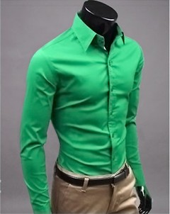 Camisa Casual Slim Fit Joker Pure