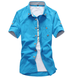 Camisa Casual Cogumelo MD01