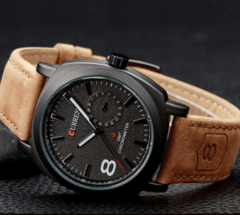 Relógio Curren GMT Chronometer Sport