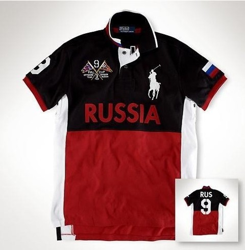 Camisa Polo RL MD05 - Russia
