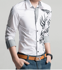 Camisa Casual Dragons