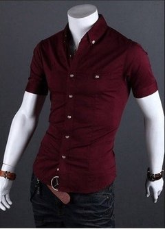Camisa Casual Slim Fit MD04