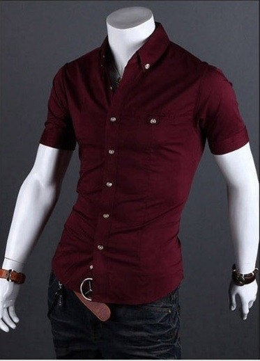 Camisa Casual Slim Fit MD04 - comprar online