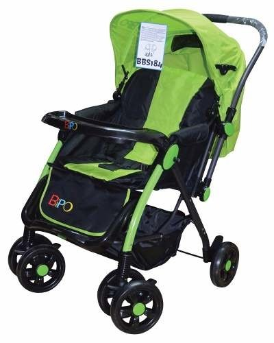 Coche Cuna Reversible Bipo Bbs184 - Pacman