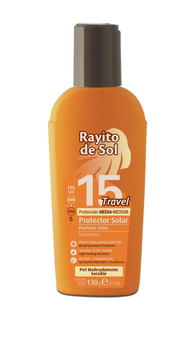 Protector Solar FPS 15 Travel x 130 gr