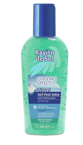 Gel Post Solar Extrarefrescante Travel x 100 gr