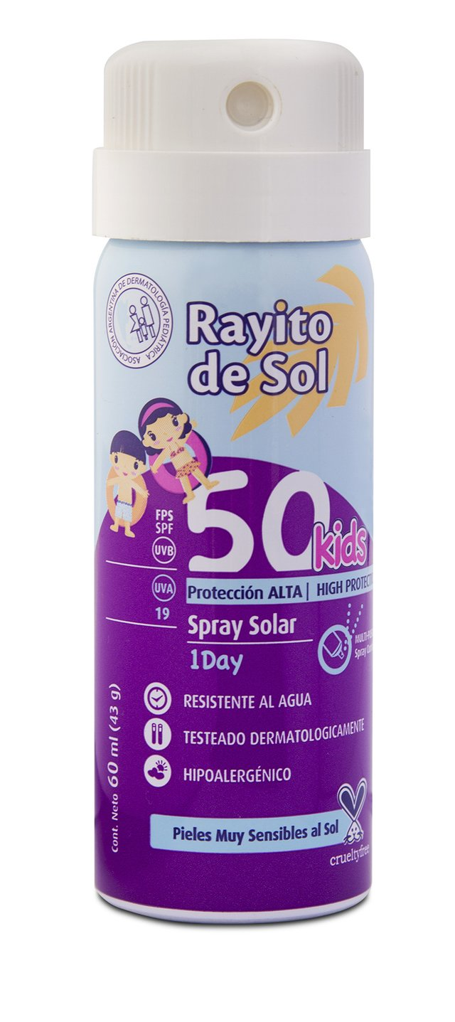 Aerosol FPS 50 x 60ml - 1-DAY PROTECTION - comprar online