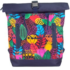 MOCHILA ROLL TOP FLORAL COLOR