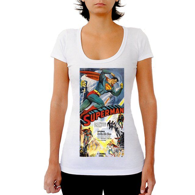 CAMISETA SUPERMAN na internet