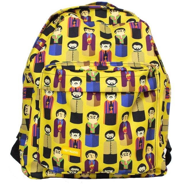 MOCHILA GRANDE BEATLES + ESTOJO BEATLES
