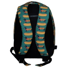 MOCHILA GRANDE HOT DOGS + ESTOJO HOT DOGS - comprar online