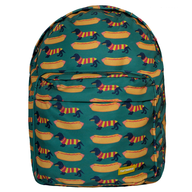 MOCHILA GRANDE HOT DOGS