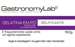 Gelatina (BLOOM 220) ultraforte 50g - comprar online