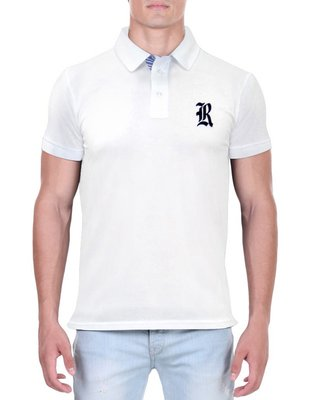 Camisa Polo RGW Branca 4045 Slim Fit