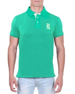 Camisa Polo RGW Verde 4014 Slim Fit