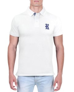 Camisa Polo RGW Branca 2997 Slim Fit