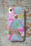 Case Pink and Blue Leafs - comprar online