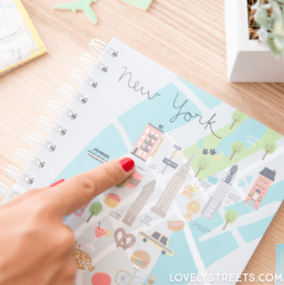LIBRETA LOVELY STREETS - NEW YORK en internet