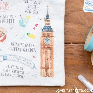 Imagen de COSMETIQUERA LOVELY STREETS - THINGS THAT MADE ME FALL IN LOVE WITH LONDON (ENG)