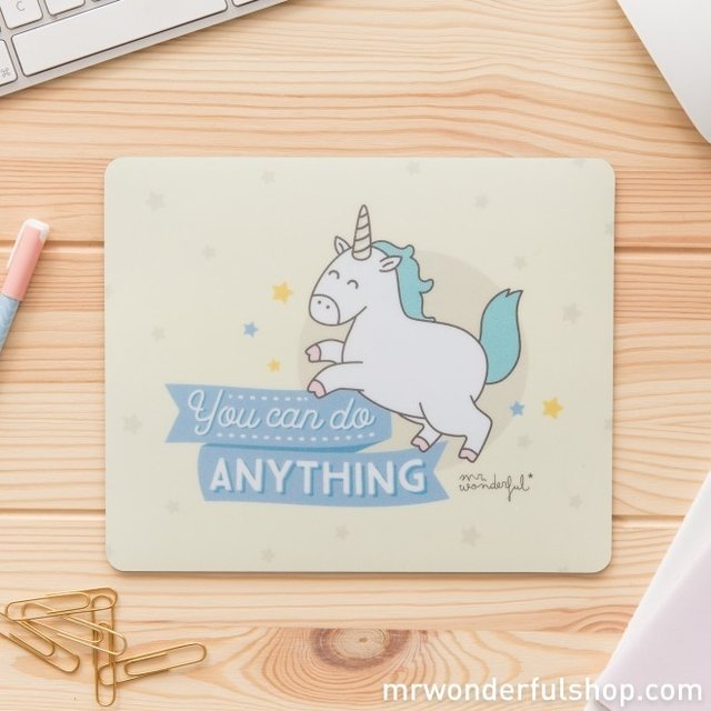 ALFOMBRILLA PARA RATÓN - YOU CAN DO ANYTHING (ENG) - comprar online