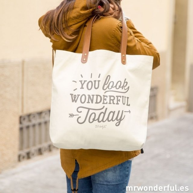 BOLSO - YOU LOOK WONDERFUL TODAY - comprar online