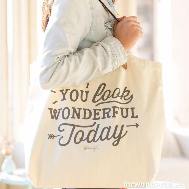 BOLSO - YOU LOOK WONDERFUL TODAY - tienda online