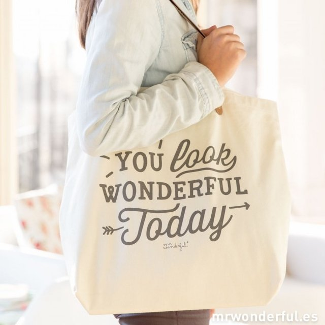 Imagen de BOLSO - YOU LOOK WONDERFUL TODAY