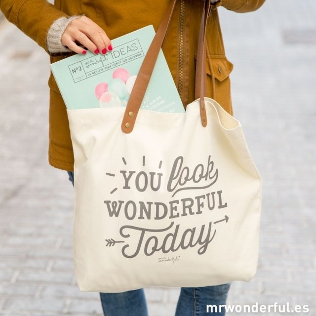 BOLSO - YOU LOOK WONDERFUL TODAY en internet