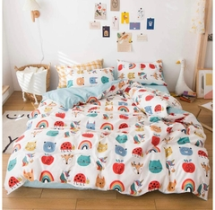 Tendido Duvet Animales de Colores