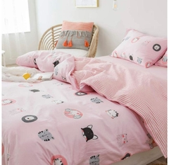 Tendido Duvet Rosa Animalitos en internet